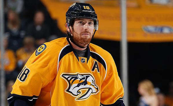 James Neal, Alternate Captain of the Nashville Predators