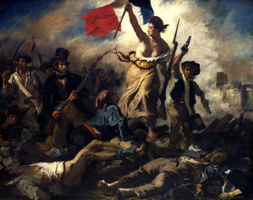 Liberty Leading the People (1830) by Eugène Delacroix: We will unite (and separate) under flags, skin colour, religion, and sexuality - but not our suffering.
