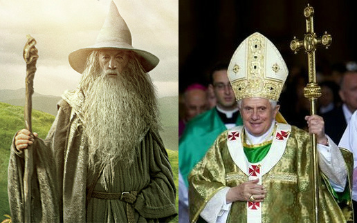 gandalf and pope